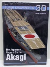 Kagero 16042 - Super Drawings In 3D - The Aircraft Carrier Akagi