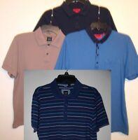 HUGO BOSS Casual Polo Shirts Short Sleeve M L XL