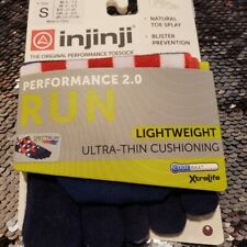 Injinji Run Toe Sock No Show Length Sz Small