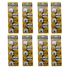 40pcs CR1025 5033LC Lithium Blister Pack 3V 3.0 Volt Coin Cell Battery eCoreCell