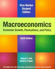 New Macroeconomics:Economic Growth,Fluctuations,Policy by  Robert E. Hall 6th ed