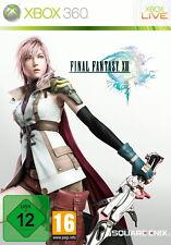 XBOX 360 Final Fantasy XIII Microsoft deutsch OVP gebraucht guter Zustand USK12