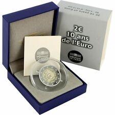 """Pièce commémorative de France 2012 BE, """" les 10 ans de l'Euro """""""