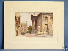 OLD CLARENDON BUILDING BROAD STREET OXFORD PRINT 10 X 8