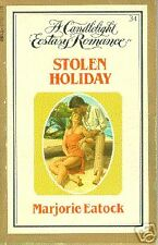 Stolen Holiday  Marjorie Eatock Candlelight Ecstasy #34