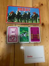 DERBY horse Racing Card Game A Game By Ace Complete