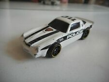 Hotwheels Camaro Z-28 Police in WHite/Black