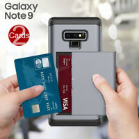 Double Card Space Armor Tough Strong Case Cover For Samsung Galaxy Note 9