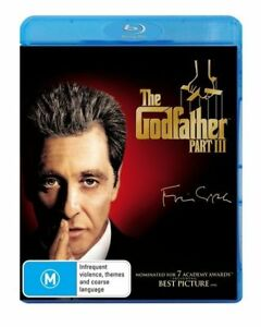 Godfather,The - Part III (Blu-ray, 2010) NEW SEALED