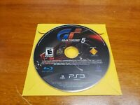 Gran Turismo 5 (Sony PlayStation 3, 2010) PS3 Game Only TESTED Fast Shipping