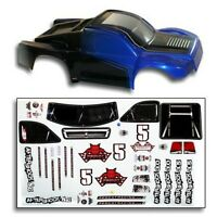 Redcat Racing BS804-002B 1/8 Short Course Truck Body Blue and Black BS804-002B