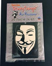 GUY FAWKES AIR FRESHENER * FRESH * v for vendetta anonymous car truck sticker