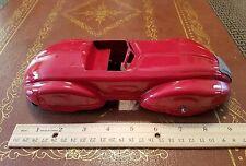 Wyandotte marx pressed steel toy car zephyr made in USA toy wind up sedan racer