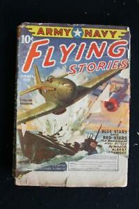 "VERY RARE MARCH 1941 ISSUE OF ARMY NAVY FLYING STORIES MAGAZINE  7"" X 9 1/2"""