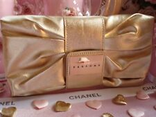 100% AUTHENTIC GUARANTEED XMAS Edition VERSACE COUTURE Signature GOLD CLUTCH BAG