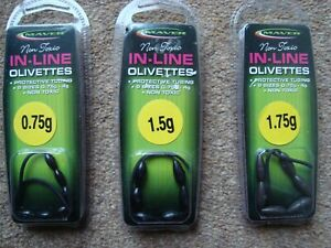 New Maver Non Toxic in-line olivettes various sizes