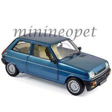 NOREV 185157 1981 RENAULT ALPINE 5 1/18 DIECAST MODEL CAR NAVY BLUE