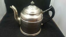 Vintage COPPER CLAD and SILVER Rome Mfg. Co. Water COFFEE POT Kettle #4
