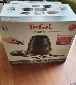Tefal Ingenio Expertise Non-Stick Induction Expertise Cookware Set, 20 Pieces K1
