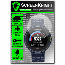 ScreenKnight Garmin Forerunner 630 SCREEN PROTECTOR invisible military shield
