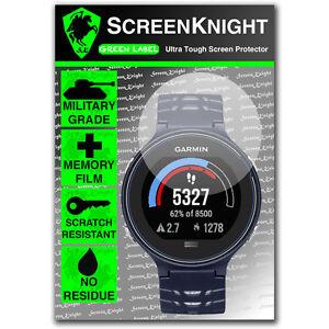 ScreenKnight Garmin Forerunner 630 SCREEN PROTECTOR invisible military shield