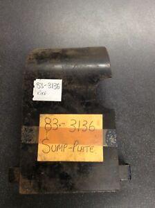Bsa A65 Sump Plate Oil On Frame 83-3136 Genuine Nos