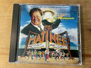 MATINEE (Jerry Goldsmith) OOP 1992 Varese Score Soundtrack OST CD EX