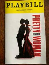 Pretty Woman Playbill NYC Broadway musical Andy Karl Orfeh