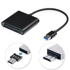 Micro USB 3.0 OTG High Speed CF SD Micro SD TF Card Reader For PC Android Phone