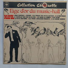 Collection Chouette Age d or du music hall MAYOL 52443