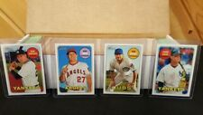2018 Complete Topps HERITAGE BASE SET *** 400 Cards  #1-400  MINT