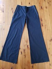 CUE Black Flared Pants Size 8