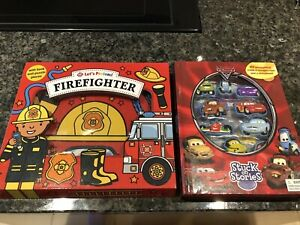 Cars 2 Stuck On Stories & Lets Pretend Firefighter