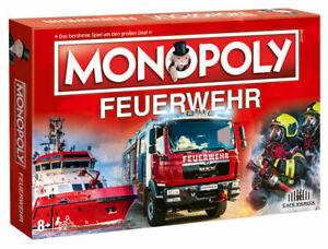 Monopoly Feuerwehr 2021 Brettspiel Fans Einsatz Blaulicht Kameraden
