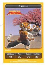 Carte Carrefour Dreamworks - kung fu panda - Tigresse N°99