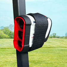 Magnetic Range Finder Holder Strap Leather Case Mount for Golf Cart Railing