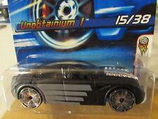 Hot Wheels Unobtainium 1 #015 2006 First Editions Black
