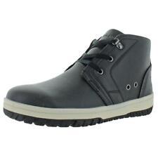 U.S. Polo Assn. Mens Black Ankle Chukka Boots Shoes 8.5 Medium (D) BHFO 4422