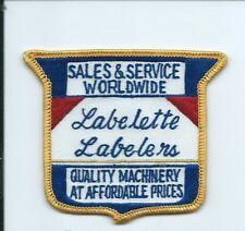 Labelette Labelers quality machinery at affordable price patch 3-1/8X3-5/8 #1856