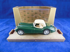 Brumm R102 1948 Jaguar 3.5 Litre in Green with Tan Soft Top Hp 160 1:43 Scale