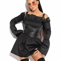 MEXTON By Alina Damenkleid Tunika Partykleid Minikleid Longshirt 34 - 38 #D408