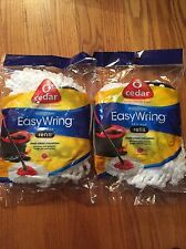 O-Cedar Easy Wring Spin Mop Refill - 2 Pack Deep Clean Microfiber Refill