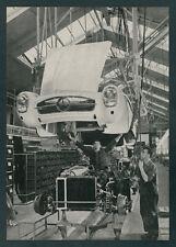 Auto Produktion Mercedes-Benz 300 SL Roadster Technik Sindelfingen Arbeiter 1959