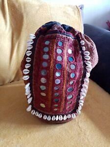 Vintage  Indian Shoulder/ Back Pack.