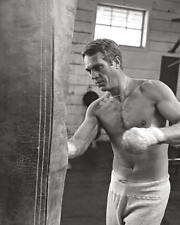 Time Life - Steve McQueen - Boxing - Ready Framed Canvas 40x50cm