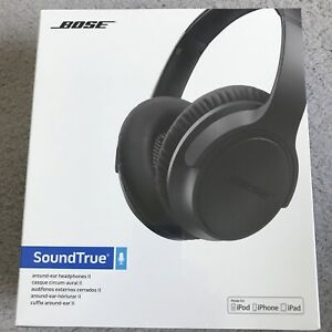 Brand New Bose SoundTrue Around Ear II Wired Headphones + in-line mic for iPhone