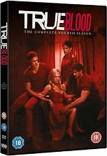 True Blood HBO TV Series  Season 4 Complete 5 Discs Collection Boxset New UK DVD