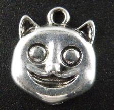 30pcs Tibetan Silver Panda Charms Pendants 17.5x15x3mm ad40389