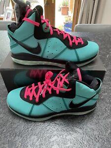 Nike Lebron 8 VIII South Beach 2021 UK14 US15 *Deadstock In Hand*