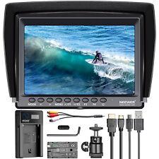 Neewer F100 7 1280x800 IPS kit monitor campo Cámara 4K con 2600mah Batería